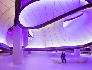 Matematyczna galeria Zahy Hadid
