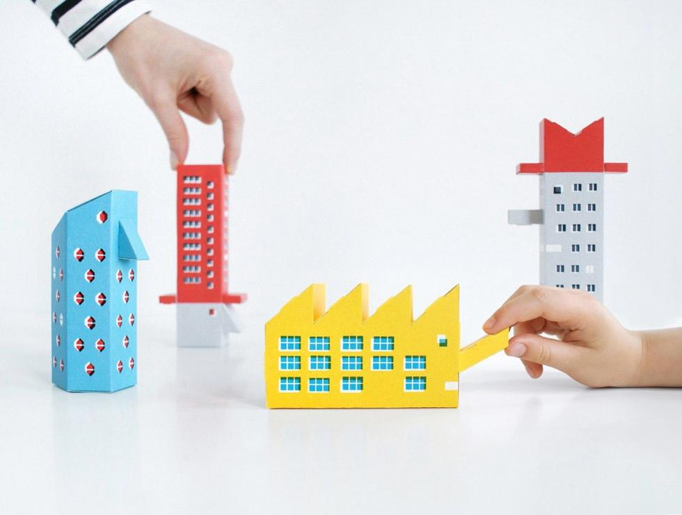 Ikony konstruktywizmu do samodzielnego złożenia